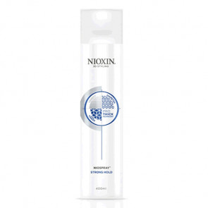 NIOXIN PRO THICK STRONG HOLD NIOSPRAY SPRAY 400ml Peinado cabello normal y encrespado