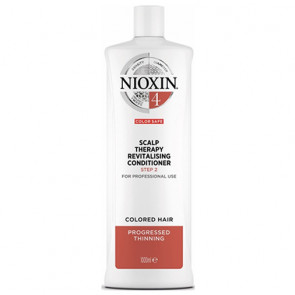 NIOXIN ACONDICIONADOR 4 1000ml cabello coloreado, fino y pérdida perceptible