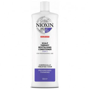 NIOXIN ACONDICIONADOR 6 1000ml cabello coloreado o natural con pérdida perceptible