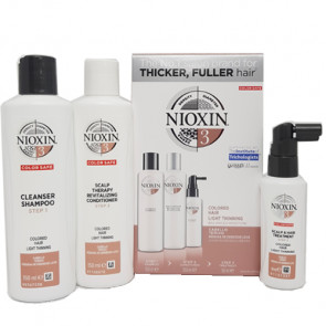 NIOXIN SISTEMA 3 - PACK ANTICAIDA 350ml cabello coloreado y aspecto normal a fino