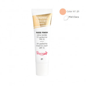 MASTERS COLORS NUDE FINISH Color N° 21 30ml - Crema con color - fps 15