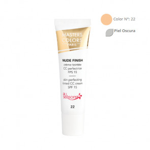 MASTERS COLORS NUDE FINISH Color N° 22 30ml - Crema con color - fps 15