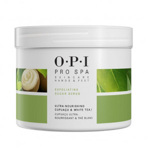 OPI PRO SPA EXFOLIATING SUGAR SCRUB 882g / Exfoliante no irritante / piel más suave y agradable al tacto