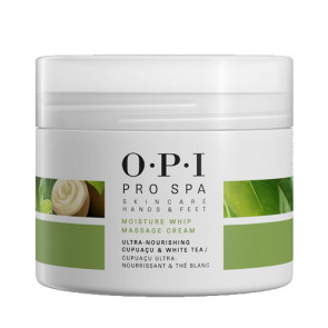 OPI PRO SPA MOISTURE WHIP MASSAGE CREAM 236ml / Crema de masaje de alto rendimiento / manos y pies