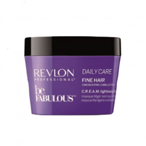REVLON BE FABULOUS DAILY CARE MASCARILLA 200ml / Cabello fino (cuidado diario)