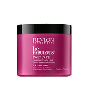 REVLON BE FABULOUS DAILY CARE MASCARILLA 500ml / Cabello normal y grueso (cuidado diario)