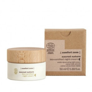 COMFORT ZONE SACRED NATURE BIO-CERTIFIED NIGHT CREAM 50 ml Crema de noche antienvejecimiento
