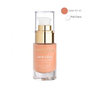 MASTERS COLORS SATIN FINISH Color N° 41 30ml - Base de maquillaje resplandor y juventud
