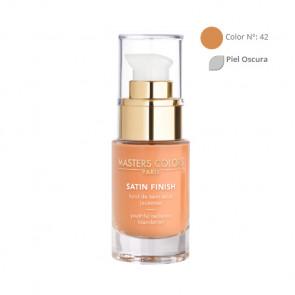 MASTERS COLORS SATIN FINISH Color N° 42 30ml - Base de maquillaje resplandor y juventud