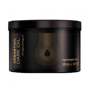 SEBASTIAN DARK OIL LIGHTWEIGHT MASCARILLA 500ml Cabello sedoso y brillante