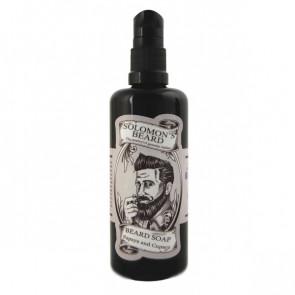 SOLOMON´S BEARD PAPAYA & CUPACU CHAMPÚ 100ml / afeitado barba / antioxidante / energizante