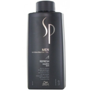 SP MEN REFRESH CHAMPU 1000ml cuerpo y cabello