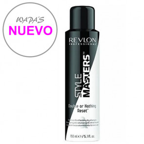 STYLE MASTERS DOUBLE OR NOTHING RESET 150ml / champú en seco / da volumen y reactiva el peinado