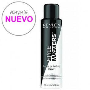 STYLE MASTERS DOUBLE OR NOTHING RESET 150ml / champú en seco / da volumen y reactiva el peinado