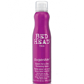 TIGI BED BEAD SUPERSTAR QUEEN FOR A DAY SPRAY 300ml fuerza & elasticidad