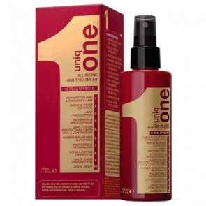 UNIQ ONE ALL IN ONE HAIR 150ml / Tratamiento de mascarilla sin aclarado (olor clásico)