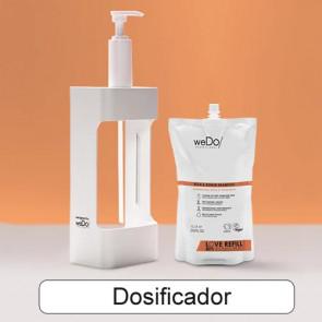 WEDO ESTACIÓN DE RECARGA - dosificador para recambios: champú, acondicionador y mascarilla
