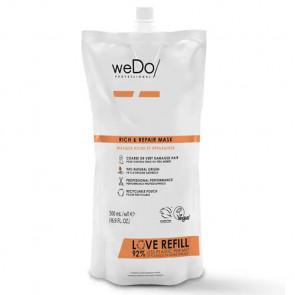 WEDO RICH & REPAIR MASCARILLA 500 ml - cabello grueso o muy dañado  - recambio reciclable