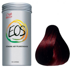 WELLA EOS Nº 7 CAYENA 120 gramos Coloración natural vegetal