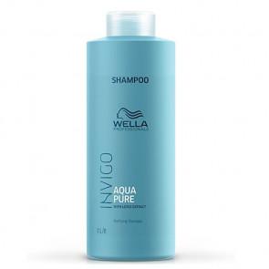 WELLA INVIGO BALANCE AQUA PURE CHAMPU 1000 ml purificante cuero cabelludo y cabello