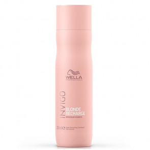 WELLA INVIGO BLONDE RECHARGE CHAMPU 250 ml cabello rubio, gris y blanco