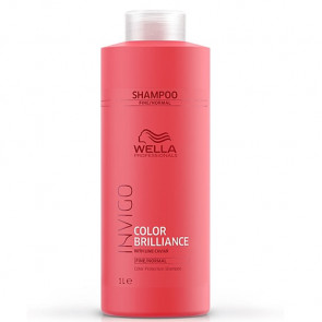 WELLA INVIGO COLOR BRILLIANCE CHAMPU 1000 ml cabello fino con color