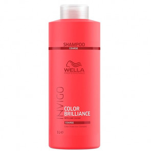 WELLA INVIGO COLOR BRILLIANCE CHAMPU 1000 ml cabello grueso con color
