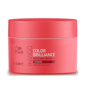 WELLA INVIGO COLOR BRILLIANCE MASCARILLA 150 ml cabello grueso con color