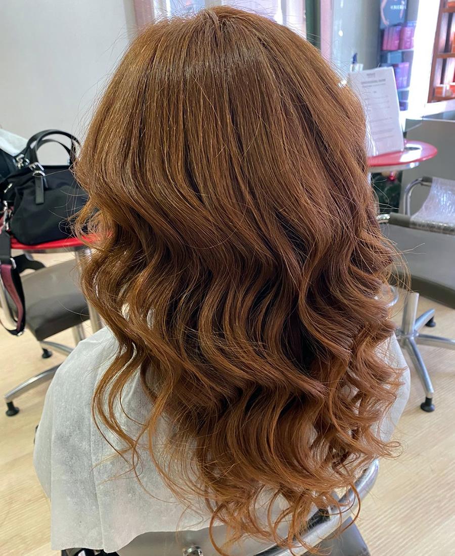 coloracion cabello color marron