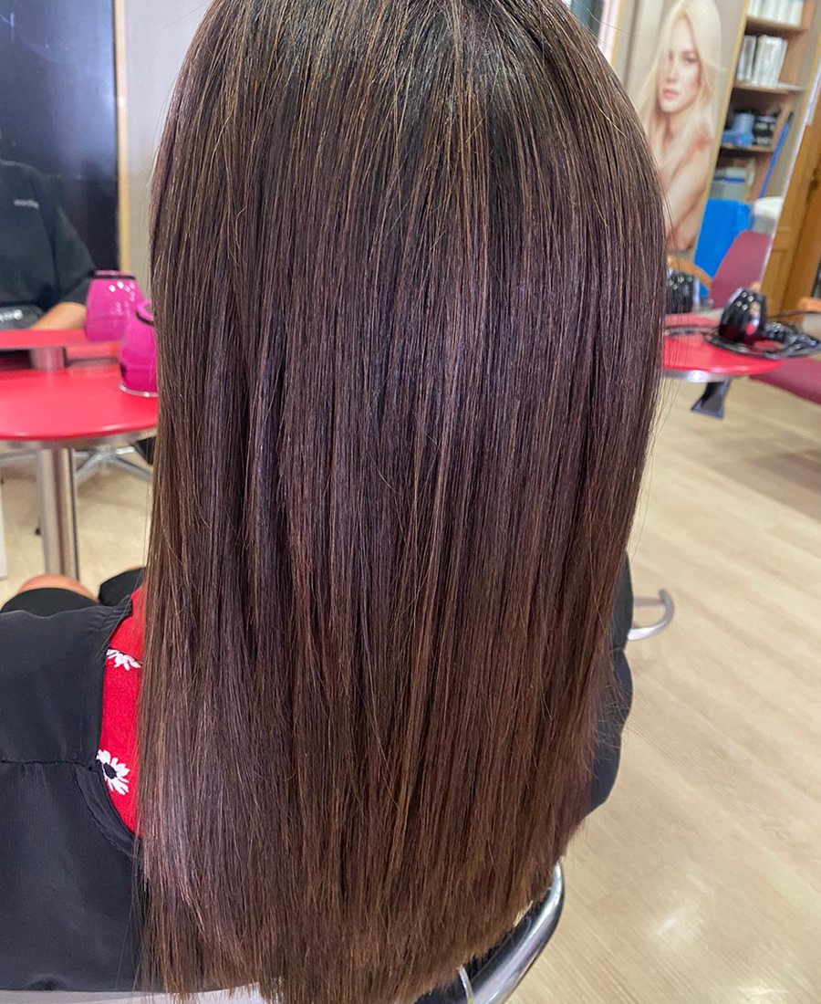 coloracion cabello color otoño