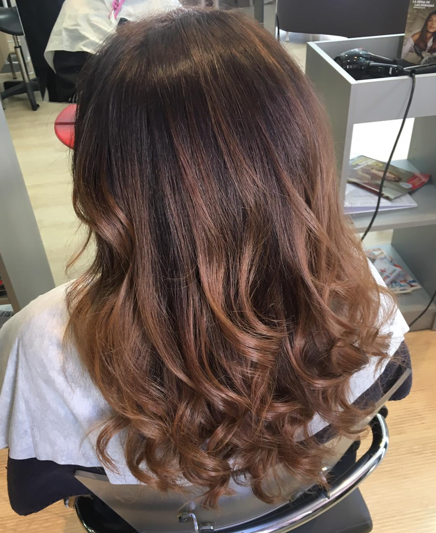 coloracion cabello tono natural