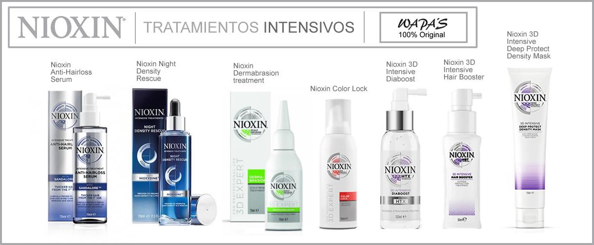 Nioxin - Tratamientos capilares