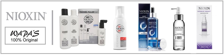 Nioxin - frenar la caída del cabello