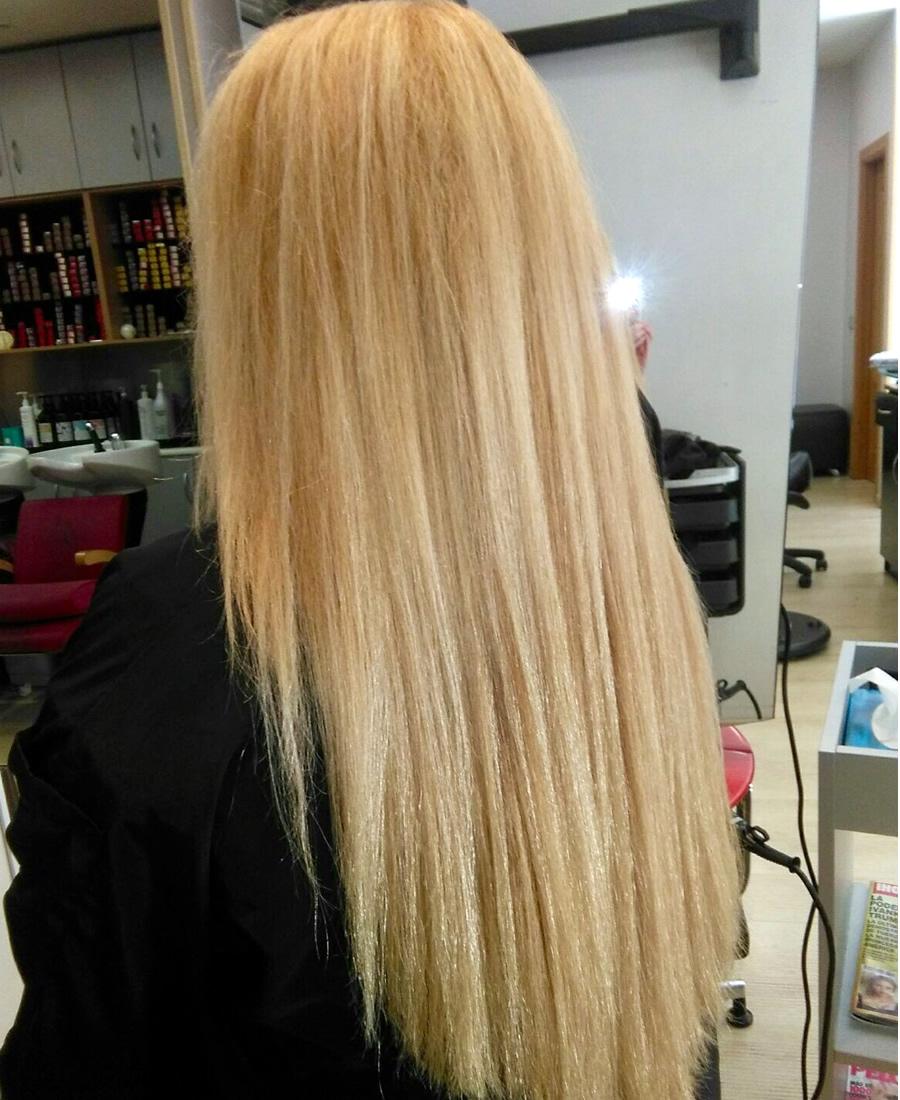 peinado cabello liso