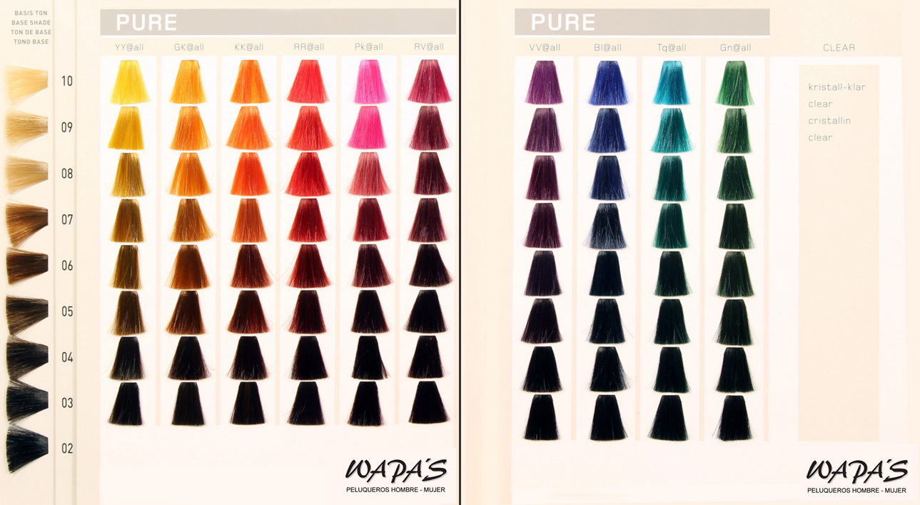 carta de color elumen Pure