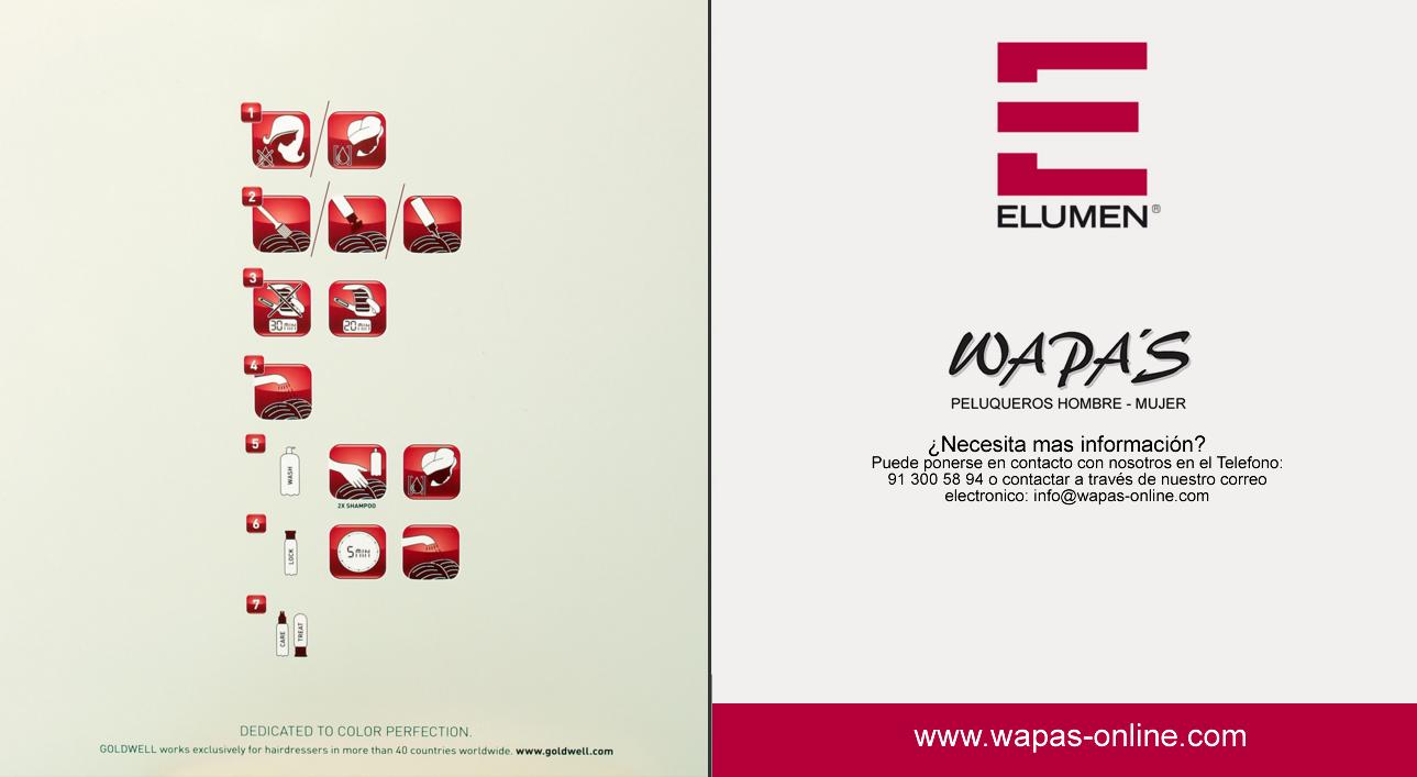 carta de color elumen aplicación productos