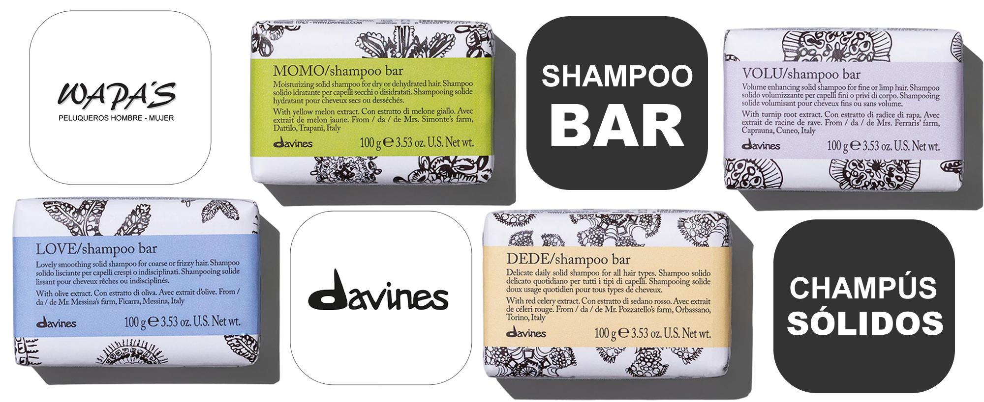 davines shampoo bar