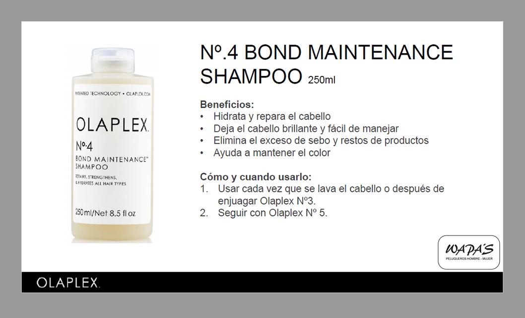 olaplex Nº.4 Bond Maintenance champú 250 ml