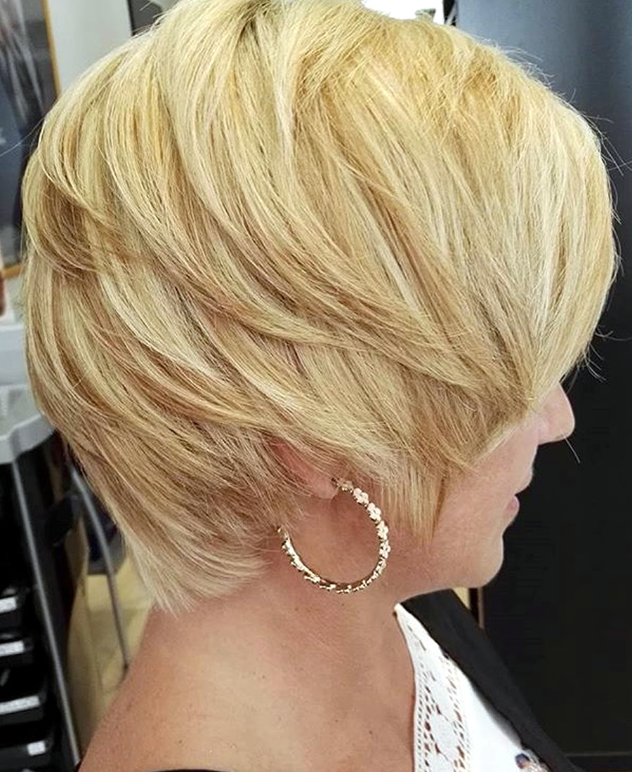 peinado cabello corto marcado