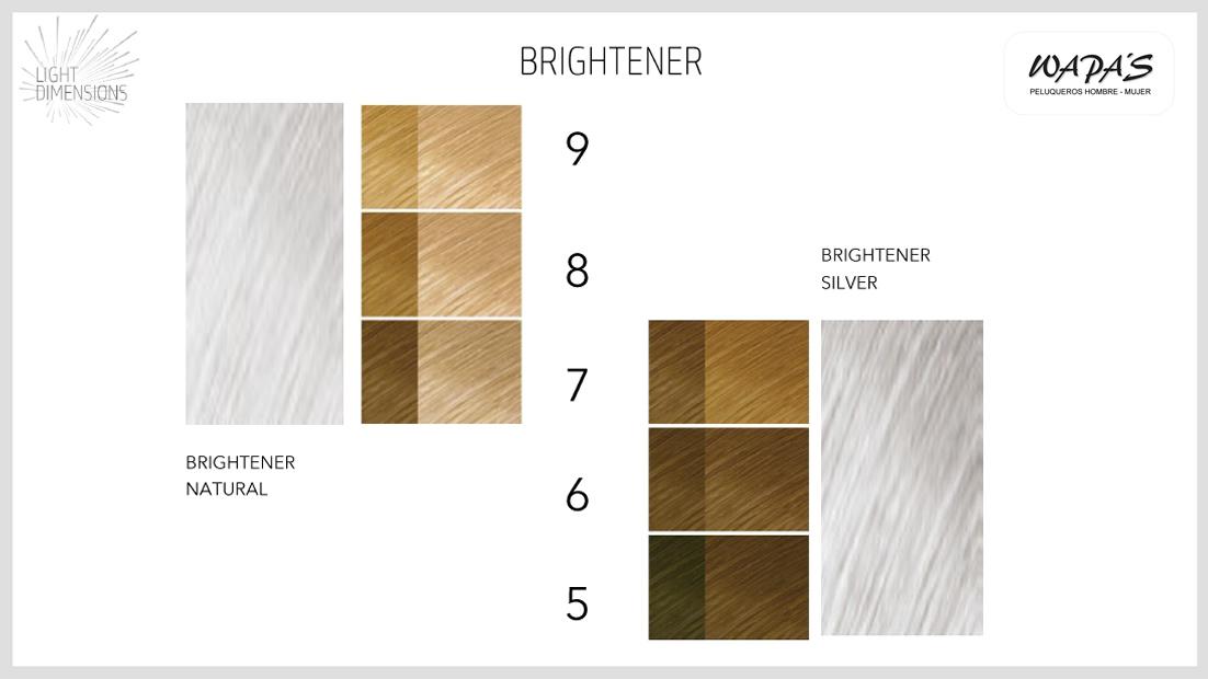 tonos aclaración cabello goldwell brightener silver