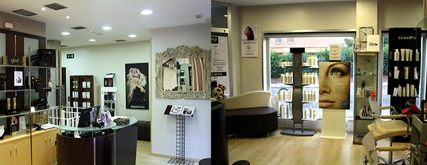 Salón de peluquería wapas